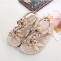 Fordbox Adorable Toddler Little Girls Dress Ballet Bow Flat Shoes
