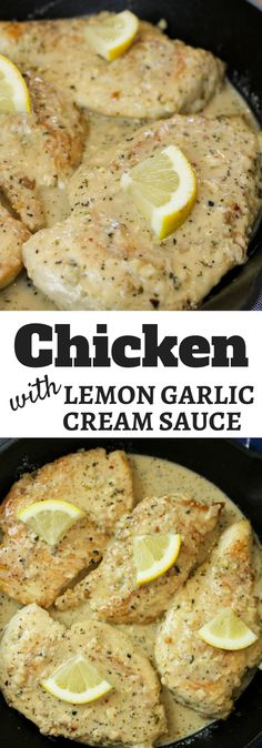 Garlic Chicken with Lemon Garlic Cream Sauce, #ad, #WhatAGoodThyme, Lemon Tablescape, Spring party tablescape, spring dinner menu, Thyme & Table @thymeandtable