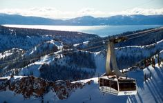 Take a trip on the scenic Aerial Tram to High Camp and take in views of Lake Tahoe and surrounding peaks of Squaw Valley.