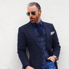 Courage Is Being Yourself Everyday In A World That Tells You To Be Someone Else. #christopherkorey #fashion #men's fashion #blue #gq #ootd ##me #tagsforlikes #life #like4like #dapper #bespoke #igdaily #igers #instagood #love #friends #family #suit #menwithclass #photooftheday #beautiful #style #instafashion #luxury #newyork #you