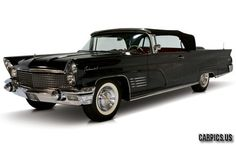 1960 Lincoln Continental Black Mark-V Convertible. Would love to own this. So Gothic looking!