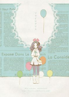 pastel-kind of like this :) it reminds me os usami maki works