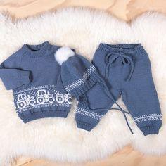 Garnpakker Arkiver - Page 3 of 4 - Bluum Knit Baby Pants, Baby Pants Pattern, Baby Boy Knitting Patterns, Fair Isle Knitting Patterns, Knitting For Kids, Baby Patterns, Newborn Crochet, Crochet Baby, Baby Doll Clothes