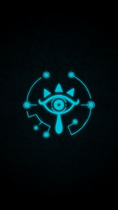 The Legend of Zelda: Breath of the Wild Sheikah symbol from the official Nintendo website! The Legend Of Zelda, Legend Of Zelda Breath, Iphone 7 Wallpapers, Gaming Wallpapers, Sheikah Symbol, Zelda Birthday, Cool Backgrounds, Wallpaper Backgrounds, Character