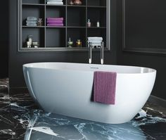 Product image for Clearwater Formoso Freestanding Bath, available from UK Bathrooms