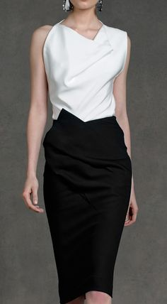 Will classic B EVER go out of style??  I THINK NOT!!!      Donna Karan Resort Collection 2013.