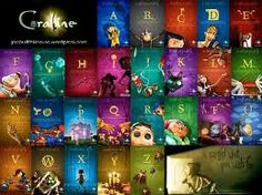 coraline movie posters