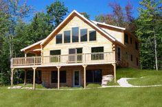 Oak Ridge Home Plan by Coventry Log Homes, Inc.