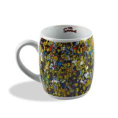 Caneca Simpsons Springfield