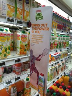Marigold PeelFresh Bring Out The Power In You Shelf Banner