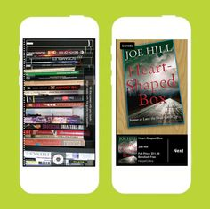 Digitalize your bookshelf with this app.