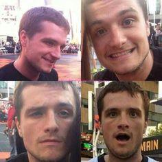 Josh Hutcherson | Goofy Faces