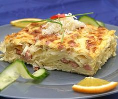 Ricotta, Lasagna, Quiche, Food And Drink, Breakfast, Ethnic Recipes, Kitchen, Recipes, Morning Coffee