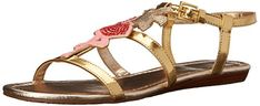 kate spade new york Womens Tammy  Sandal Gold 75 M US *** Learn more by visiting the image link.