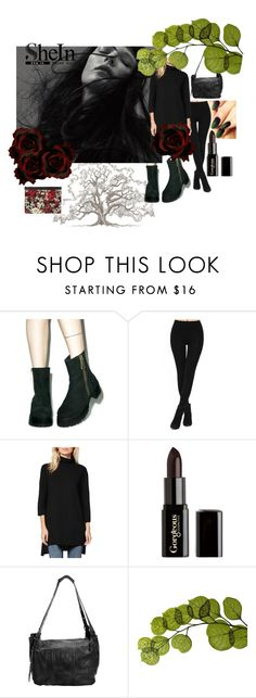 """""""SheIn Leggings Look 5"""" by petit4 ❤ liked on Polyvore featuring Michael Stars, Gorgeous Cosmetics, Latico, Dot & Bo and Dolce&Gabbana"""