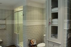 Love the tile work in this bathroom.  The Inn at Little Pond Farm – part two » Talk of the House