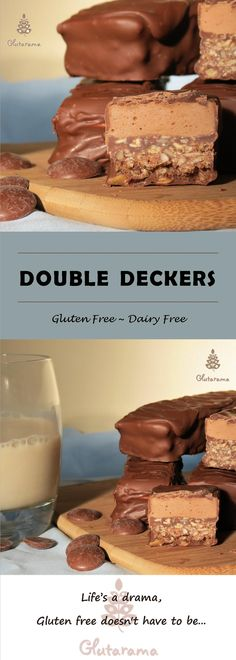 Double Deckers; gluten free and dairy free, these are utterly delicious, you won't trust yourself with not eating the lot!