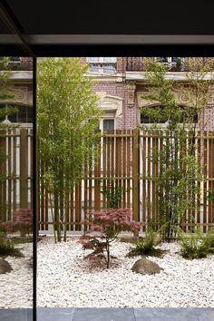 Effet contemporain jardin sec fleurs jardins pinterest - Deco jardin avec tige de bambou saint denis ...
