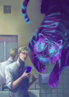 Cecil-and-khoshekh by GloomySisterhood.deviantart.com on @deviantART