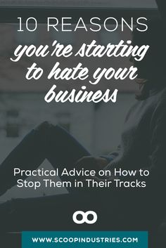 Have an entrepreneur friend who's struggling in their small business? Share this pin  - Here are 10 tips for keeping your business on track when things get tough.