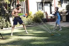 Pin for Later: The Best Shirtless Moments From TV This Year About a Boy David Walton is ridiculously cute.