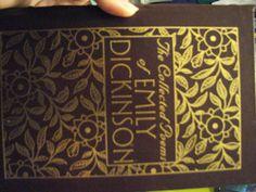 love Emily Dickenson's Poems!