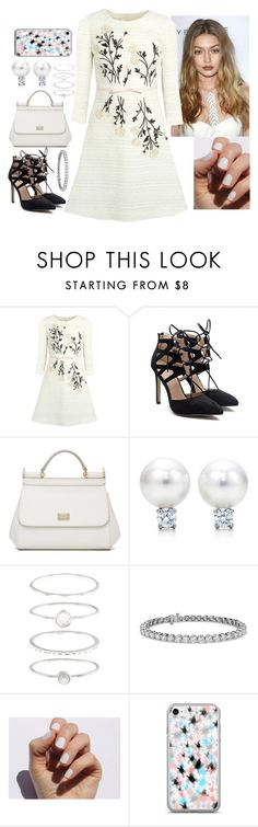 """""""Untitled #882"""" by fatyhnrqz94 ❤ liked on Polyvore featuring Giambattista Valli, Dolce&Gabbana, Accessorize, Blue Nile and SoGloss"""