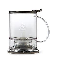 Teavana PerfecTea 16 Ounce Tea Maker - Black for sale online Cool Gifts, Best Gifts, Perfect Cup Of Tea, Best Tea, Tea Infuser, Loose Leaf Tea, Mother Gifts, Just In Case, Tea Pots