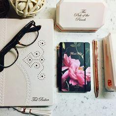 The pen is mightier than the sword ... More Ted Baker #giftboutiquefraserburgh #tedbaker #wildandwolf #paperpunch#stapler #pen #pickofthepunch #wellconnected #notebook #pearlsofwisdom #awaywithwords