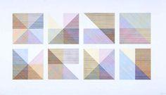 Sol LeWitt Eight Squares 1980