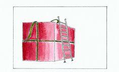 Groß(artig)e Weihnachten - Entwurf für eine Weihnachtskarte