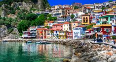 50 of the Most Beautiful Small Towns in the World / From historic citadels to snowy ski spots, these stunning small towns are brimmi. Santorini, Picture Postcards, World's Most Beautiful, Turquoise Water, World Heritage Sites, Small Towns, Travel Photography, Places To Visit, Vacation