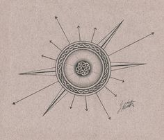 celtic compass