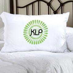 Felicity Bouncy Bouquet Pillow Case - Green BB4