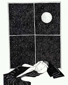 The last time I saw you before I left. The moon reminds me every time. Art And Illustration, Romance Arte, Desenhos Love, Cute Couple Art, Art Drawings Sketches, Erotic Art, Love Art, Amazing Art, Fantasy Art