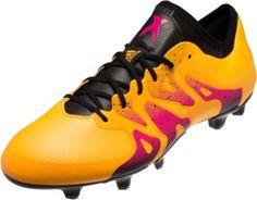 quality design 59042 ca35f adidas X 15.1 FG AG Soccer Cleats - Solar Gold   Black - SoccerPro.com