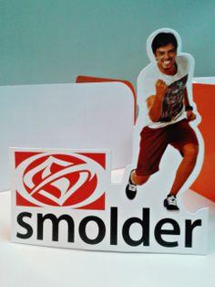Display de mesa para Smolder.