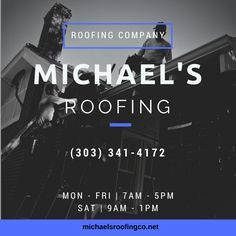 If Youu0027re In Need Of A Professional Roofing Contractor To Help With Roof  Repairs And Refinishing, Call Michaelu0027s Roofing. Weu0027ve Been A Top Roofing  ...