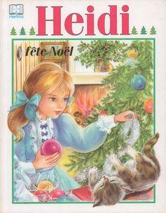 Heidi fête Noël (album ancien)