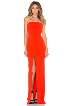 Shop for SOLACE London Alston Maxi Dress in Red at REVOLVE. Free day shipping and returns, 30 day price match guarantee. Maxi Dress With Slit, Dress Red, Designer Cocktail Dress, Gq Fashion, Revolve Clothing, Strapless Dress Formal, Prom Dress, Bridesmaid Dresses, Maxi Dresses