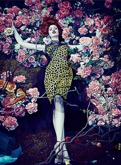Karen Elson by Steven Klein for Vogue