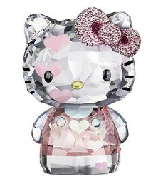 Sanrio Hello Kitty Zodiac Dragon Ceramic figure Japan figurine in pink