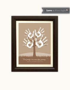 Father's Day Gift  Handprint Tree  Children's by LoveAtFirstSight1, $8.00
