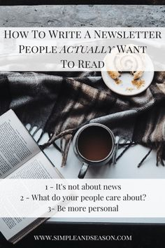 How To Write A Newsletter People Want To Read - email marketing, email marketing tips, newsletter marketing, email marketing inspiration, email marketing strategy, email newsletter ideas, email marketing inspiration