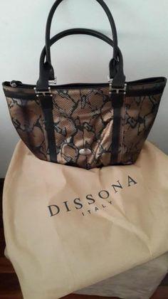 558357acd9d Brand New never been used Dissona Genuine Leather Italian Handbag (worth  R2500.00)