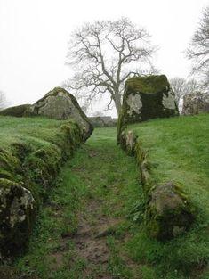 Stone Circle Passageway, Lough Gur, Ireland
