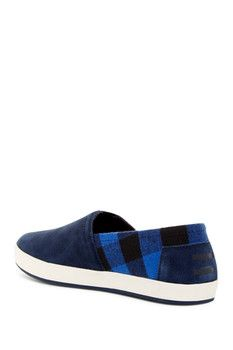 TOMS Avalon Buffalo Plaid Slip-On Sneaker