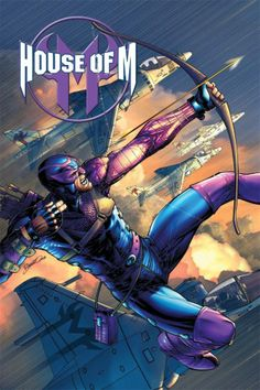 Favorite Hawkeye picture (from House of M)