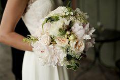 Gorgeous bridal bouquet ~ Morgan Walker Petals and Hedges. Photo by The Photography Smiths. Venue ~ Bluemont Vineyard