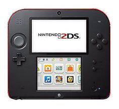 01ce5c79d9a7 Nintendo 2DS Launch Edition Crimson Red W  POKEMON MOON and 32gb sd card  Business Help